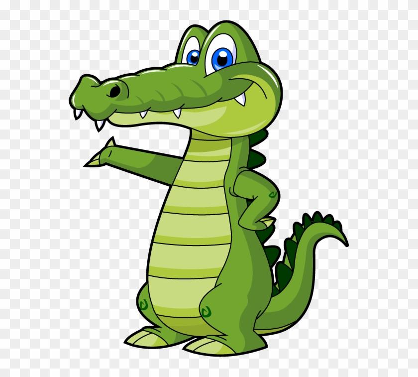 Alligator For Teachers Clipart Collection - Alligator Cartoon #14241