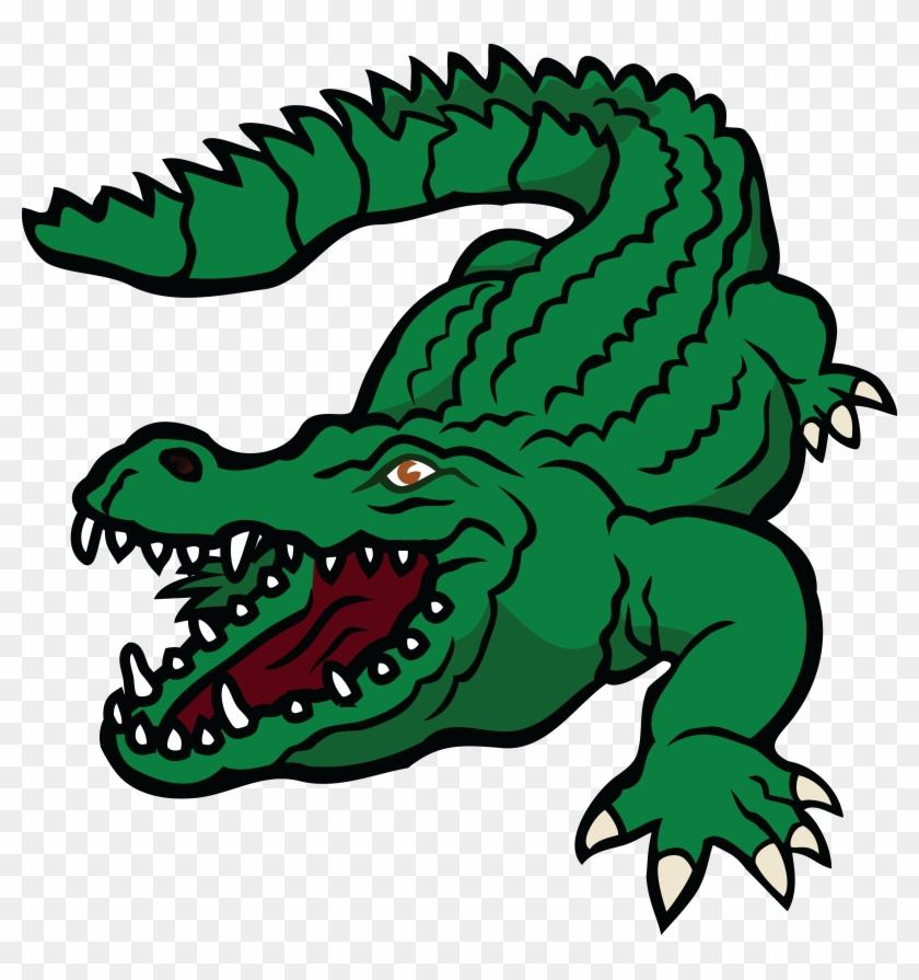 Free Clipart Of A Crocodile - Crocodile Clipart #14259