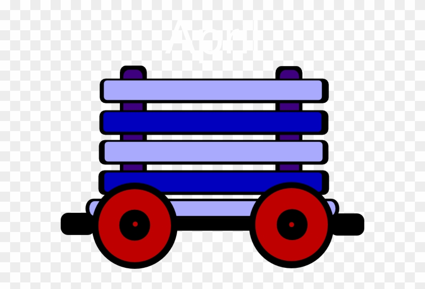 Loco Train Carriage Yellow Clip Art At Clker - Train Carriage Clipart #14263