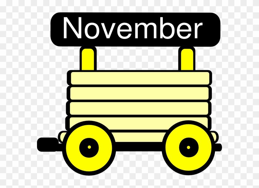 Yellow Train Cliparts - Loco Train Carriage Clip Art #14277