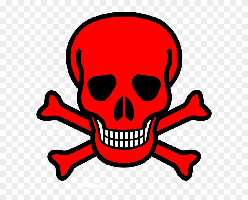 Red Skull And Crossbones #14283