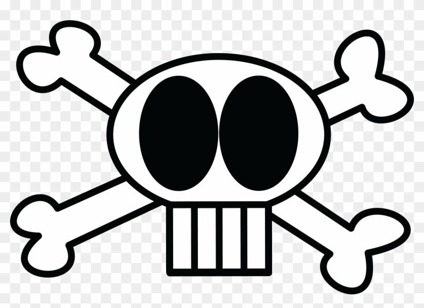 Skull Clipart Skull And Crossbones - Skull And Crossbones #14291