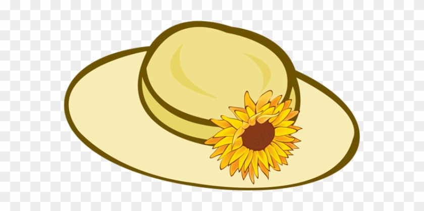 Straw Hat Cliparts Free Clip Art On Flower Garden 14292