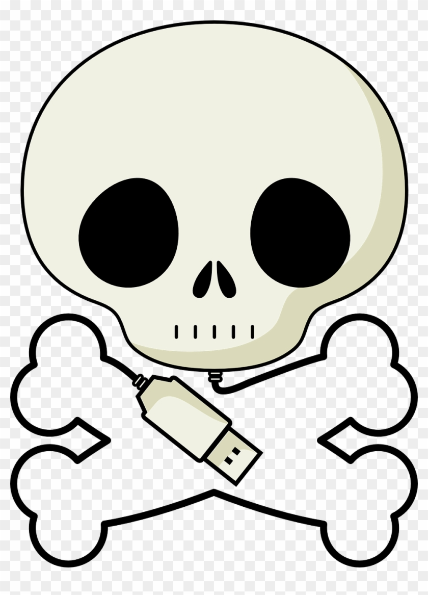 Pirate Skull Png - Skull And Crossbones #14329