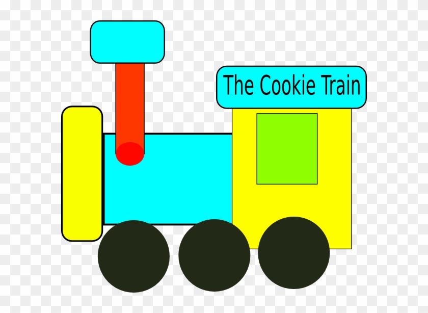 Cookie Train Clip Art - Clip Art #14338