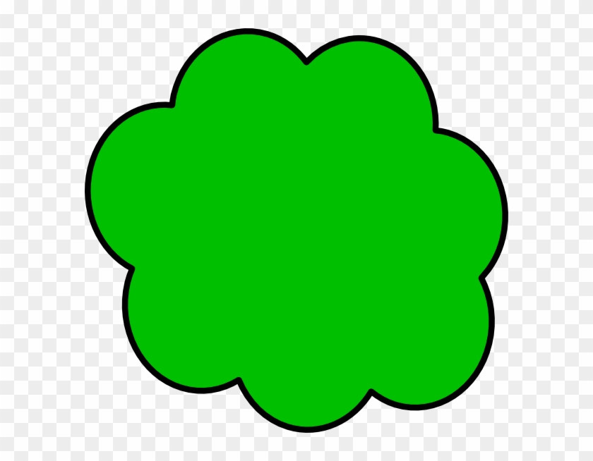 Lilly Pad Clip Art - Green Cloud Clipart #14357