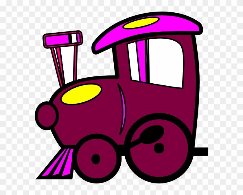 Loco Train Clip Art - Toy Train Clip Art #14385