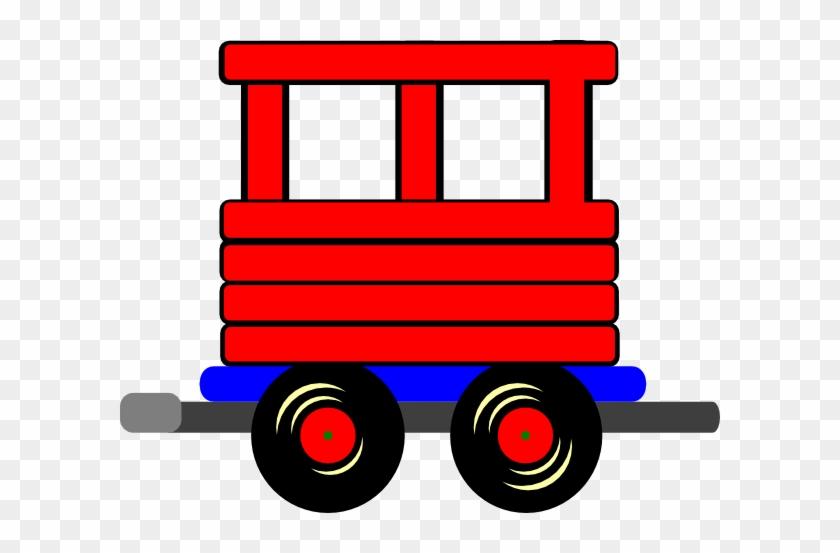 Train Clipart Train Car - Train Caboose Clipart #14390