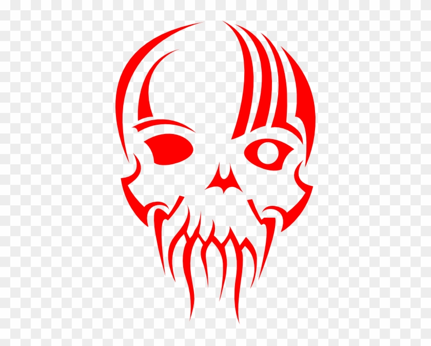 Red Skull Logo Png #14394