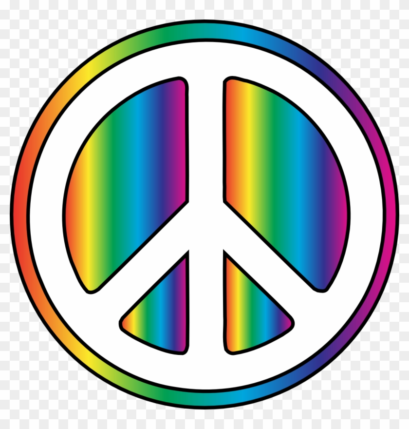 Peace Symbol Peace Clipart - Peace Sign Transparent Background #14426