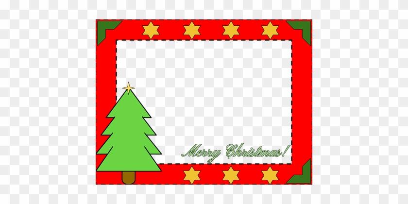 Christmas Border, Christmas, Pine Tree - Christmas Boarder #14439
