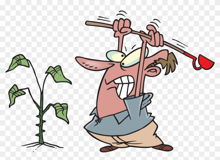 Weed Clip Art - Free Clip Art Pulling Weeds #14448