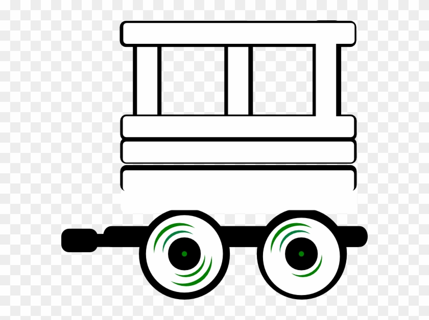 Train Caboose Clipart Black And White Cliparts Others - Train Carriage Clip Art #14449