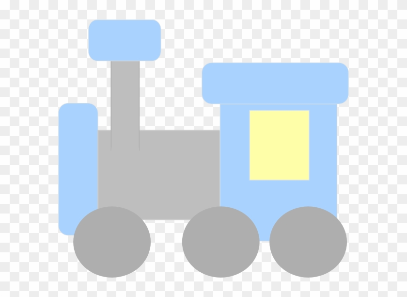 Train Clipart Baby Toy - Baby Train Clipart #14454