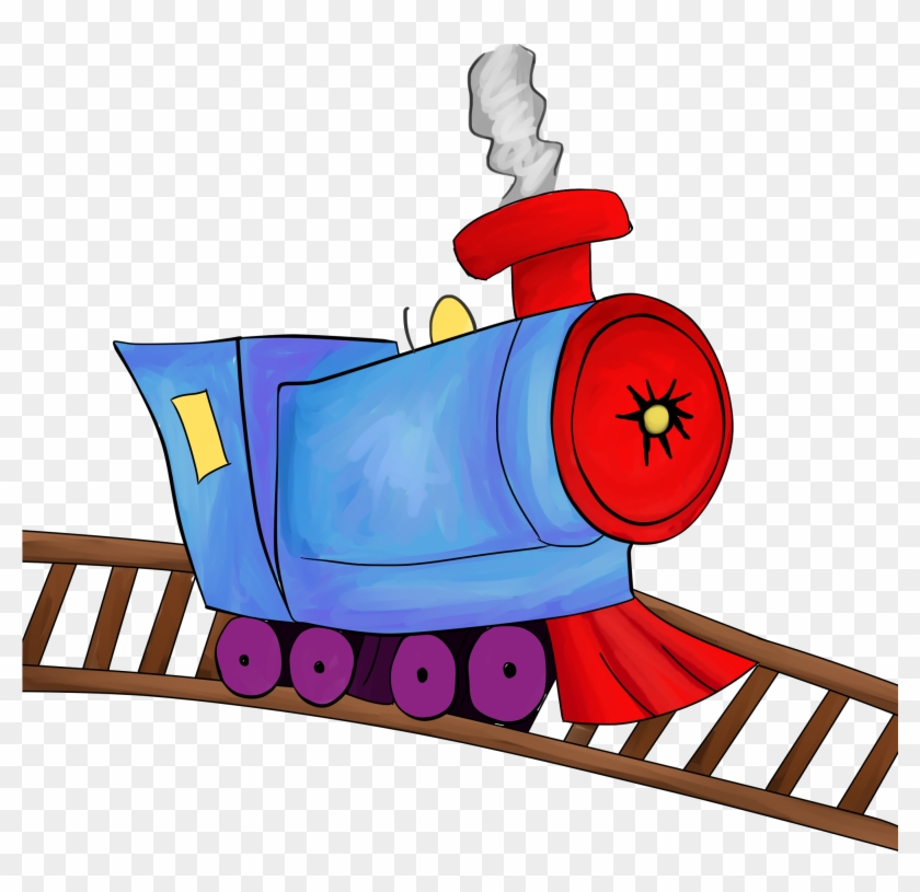 Train Free To Use Clip Art - Train On Track Clipart #14499