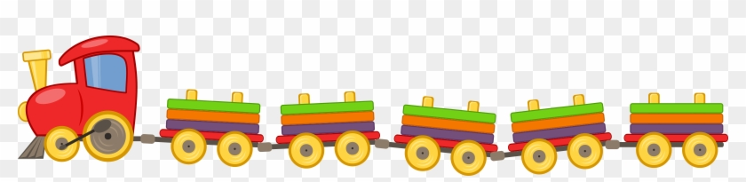Train Clipart Toy Train - Toy Train Png #14503