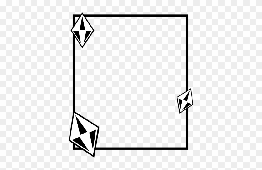 Free Jewelry Clip Art Borders - Diamond Borders Clip Art #14509
