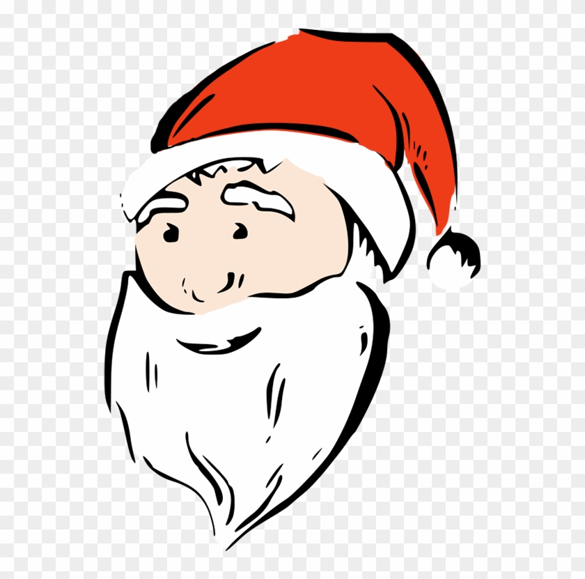 Modern Santa - Santa Face #14518