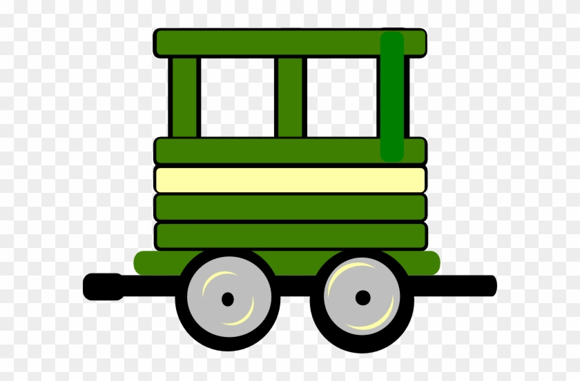 Loco Train Carriage Clip Art - Train Carriage Clipart #14520