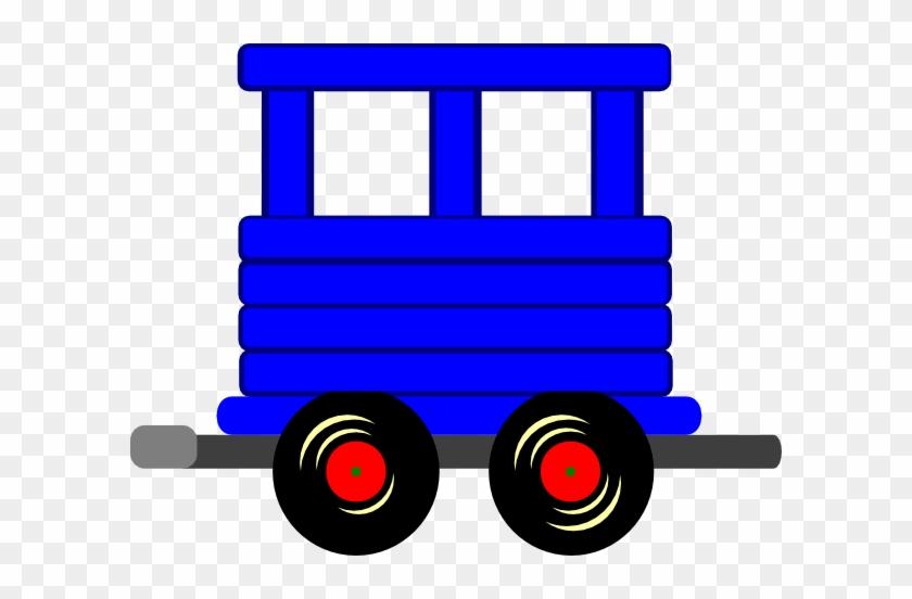 Caboose Loco Train Carriage Clip Art At Vector Clip - Clip Art #14522