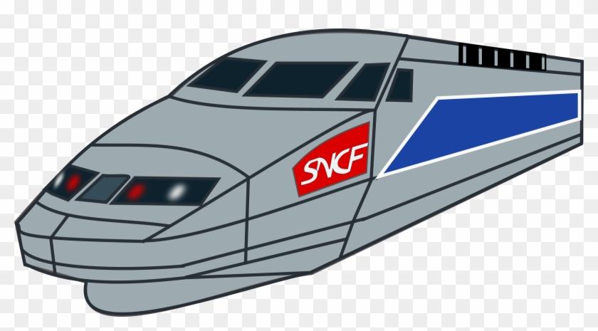 Locomotive Train Clip Art Clipartix - Train Sncf Clipart #14531