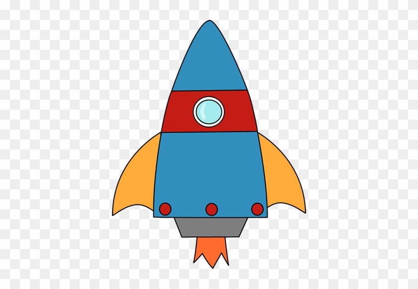 Rocket Blasting Off - Rocket Clip Art Free #14540