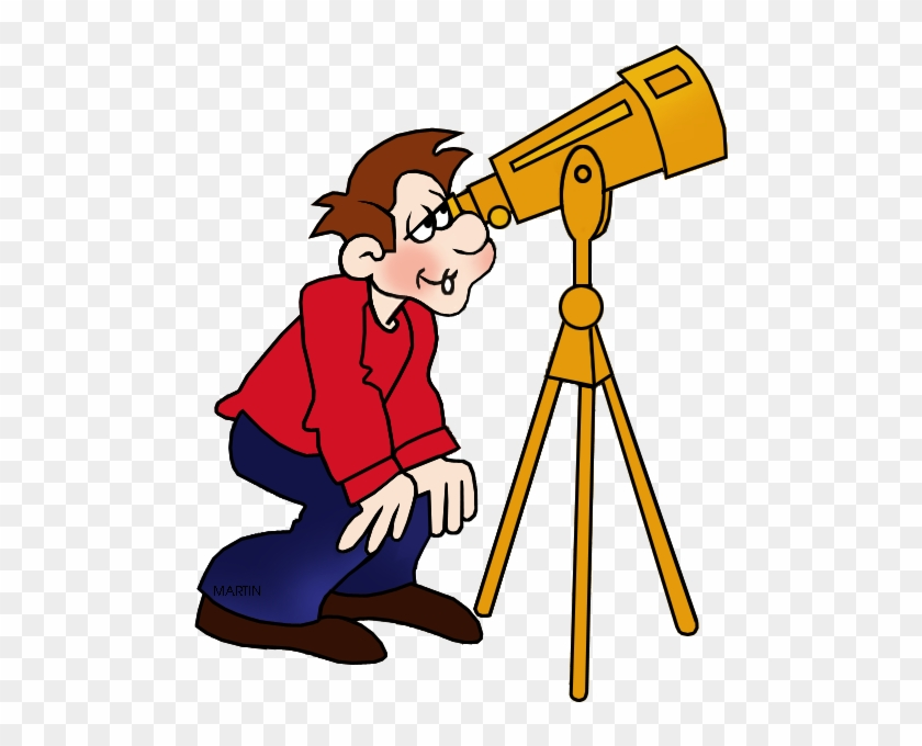 Astronomer - Astronomer Clipart #14564