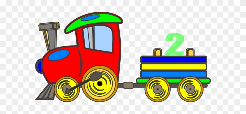 Steam Train Engine Clip Art - Cartoon Choo Choo Train #14574