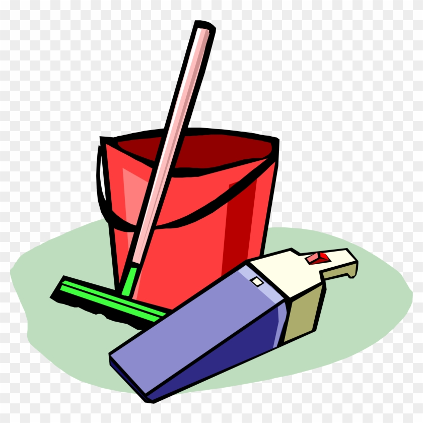 Tools - Cleaning Supplies Clipart #14592