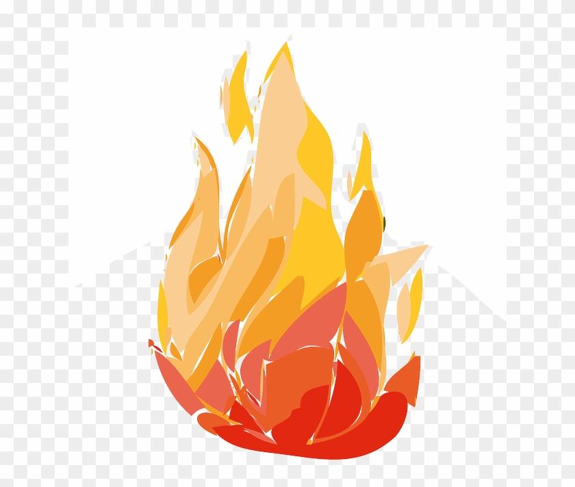 Rocket Fire, Cartoon, Hot, Flame, Free, Element, Rocket - Fire Clip Art Animation #14628