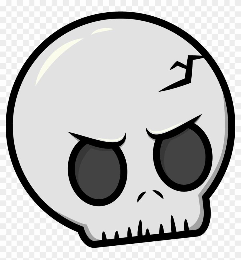 Skull Cartoon Drawing Clip Art - Skull Cartoon Drawing Clip Art #14639