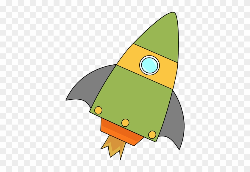 Green Rocket - Mycutegraphics Space #14629