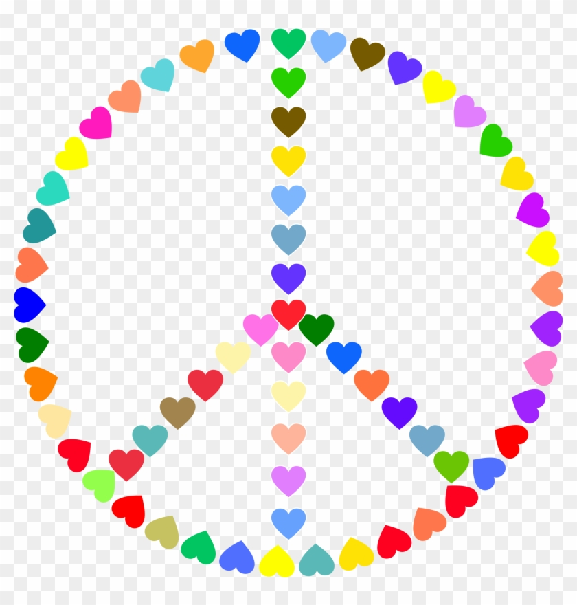 Download - Peace And Love Clipart #14636