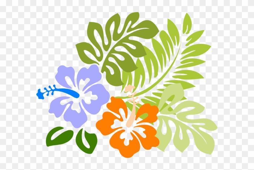 Hawaiin Flowers - Clipart Library - Hawaiian Flower Png #14655