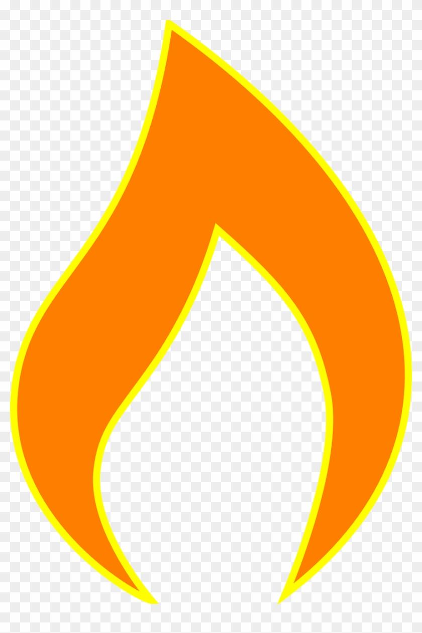 Fire Flame Bright Burn Heat - Chama Do Espirito Santo #14662