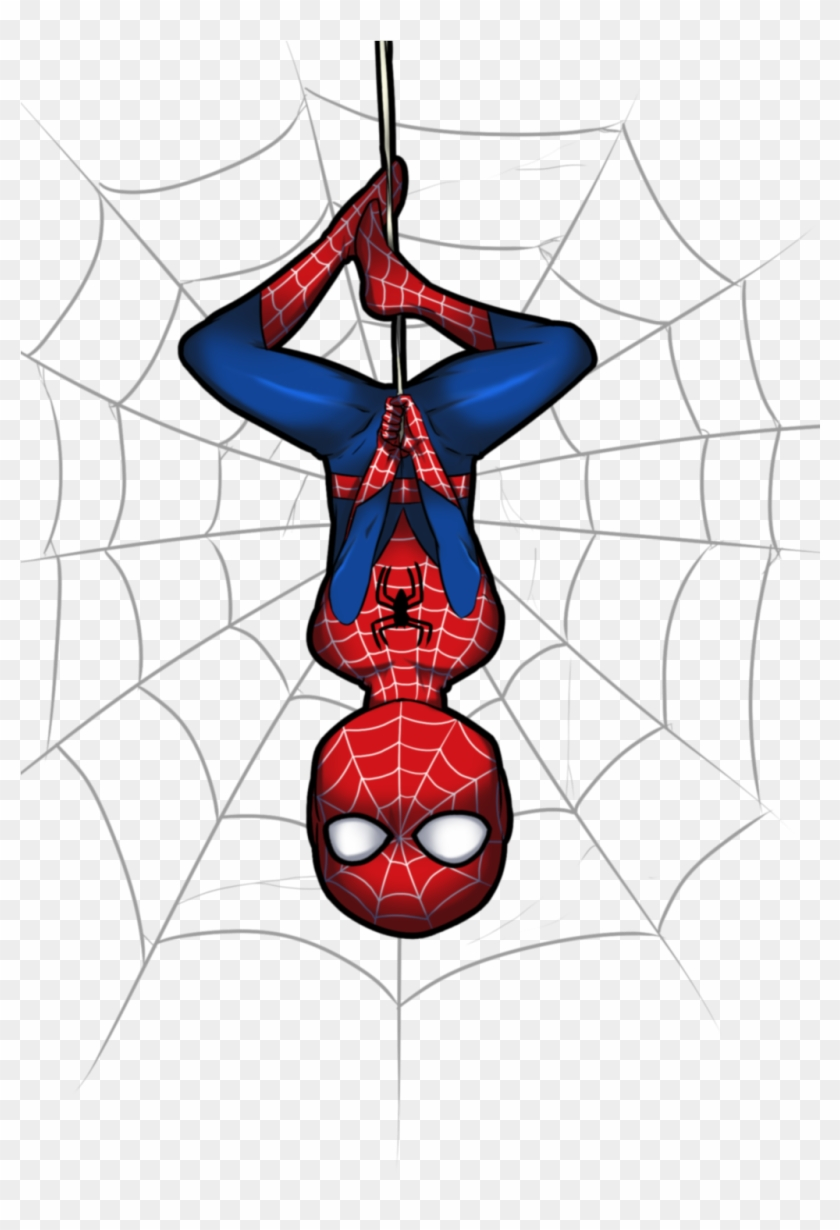 Spiderman Clipart Little - Spider Man Web Clipart #14669