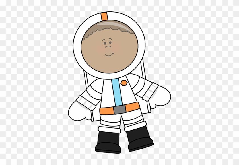 Clip Art - Kid Astronaut Clipart #14707