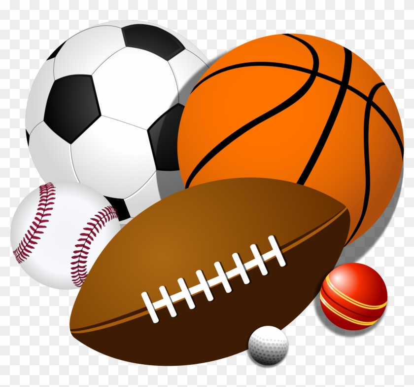 Free Sport Balls Clipart Clip Art Library - Sports Balls Clipart #14729