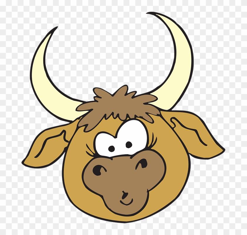 Bull Head Clipart #14734