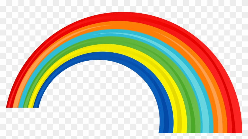 Transparent Rainbow Picture - Rainbow Png #14754