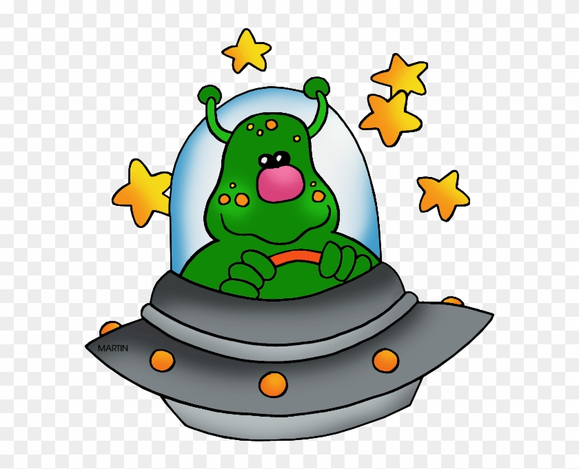 Transportation Clip Art By Phillip Martin, Ufo Space - Png Нло Клипарт #14747