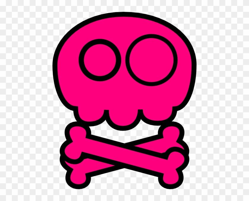 Pink Skull Clip Art - Punk (pink) Baby Blanket #14748