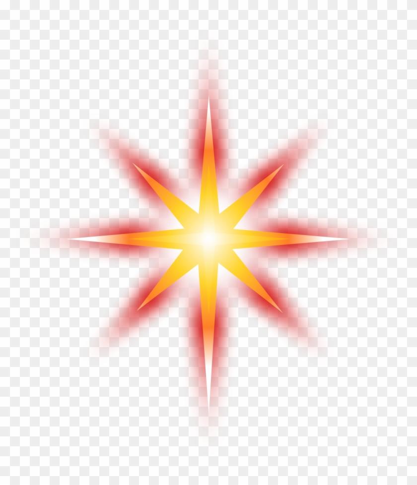 Star - Resplandor De Estrella Png #14764