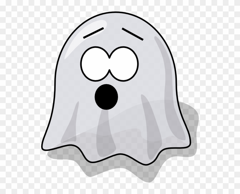 Scared Ghost Clip Art - Animated Ghosts Clip Art #14805