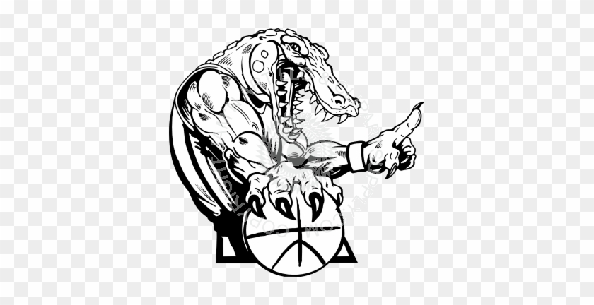 Gator Basketball Clip Art - Florida Gators Men's Basketball #14884