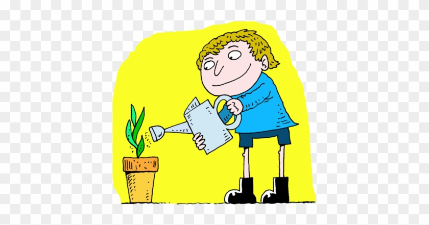 Watering Plant - Give Water To Plants #14896