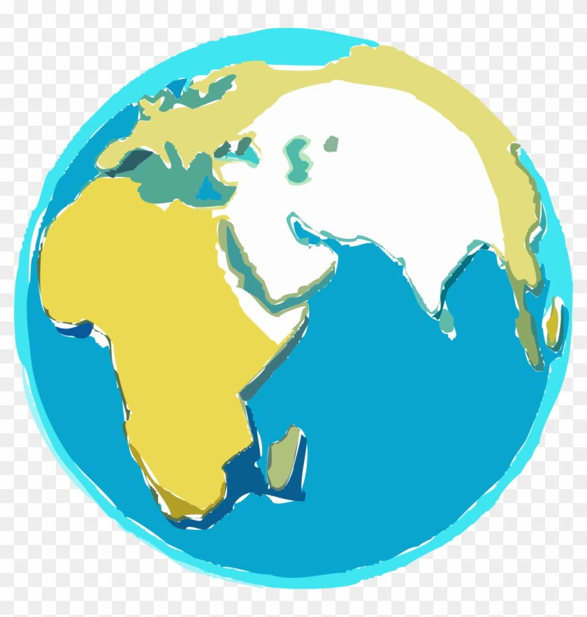 Earth Clipart Free - Indian Ocean Island Countries #14964