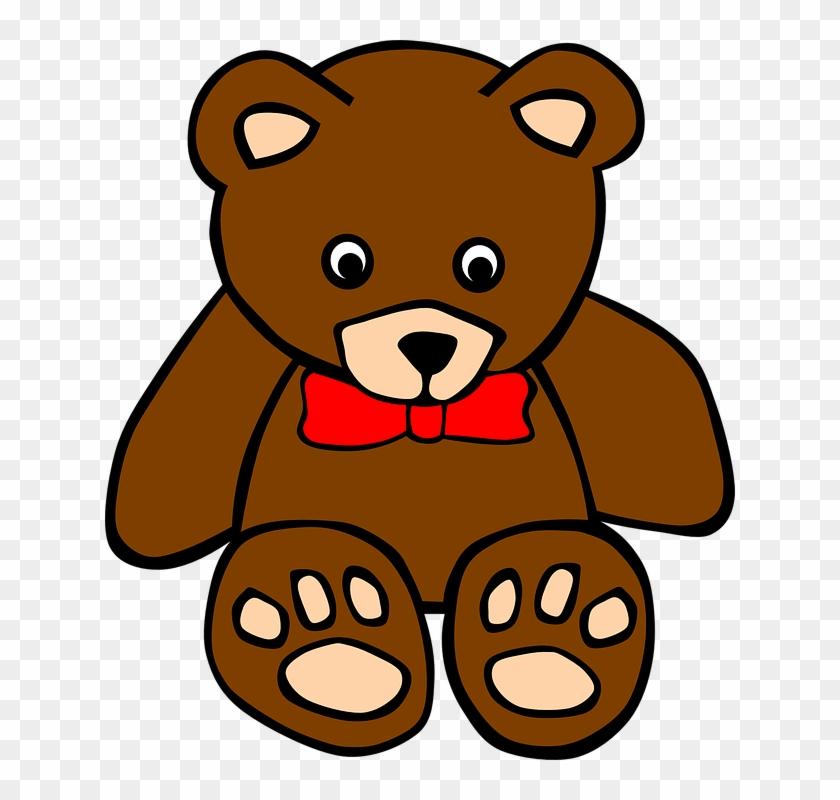 Free To Use Public Domain Teddy Bear Clip Art - Clipart Of A Teddy Bear #14967