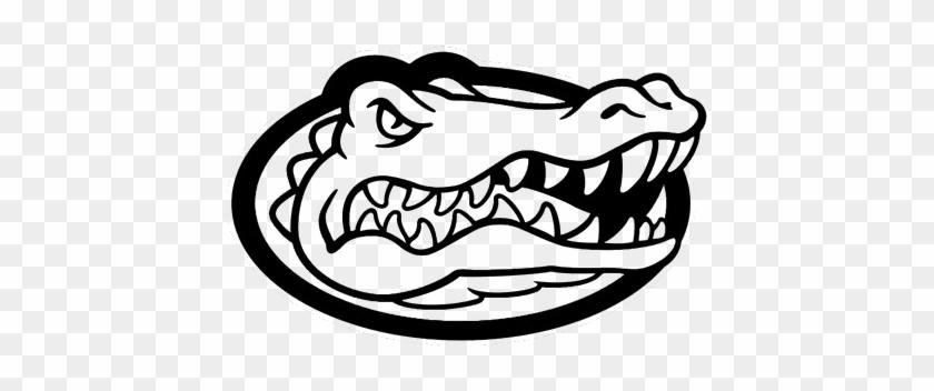 Florida Gator Clipart - Florida Gators Swim Cap #14974