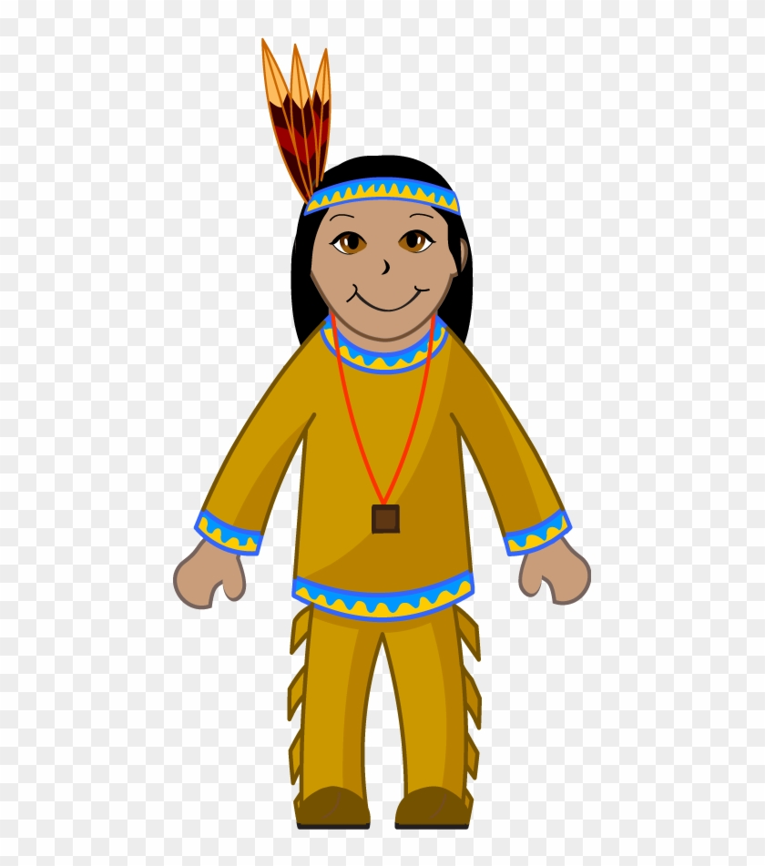 Indian Clip Art - Native American Indian Clipart #15098
